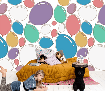 3D Colorful Balloons 935 Wallpaper AJ Wallpaper 2