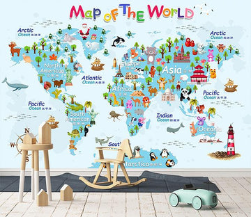3D Cartoon Map 165 Wallpaper AJ Wallpaper