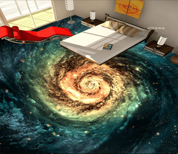3D Whirlpool 029 Floor Mural Wallpaper AJ Wallpaper 2