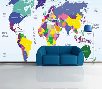 3D World Map 182 Wallpaper AJ Wallpaper