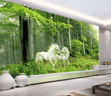 3D Woodland Unicorn 168