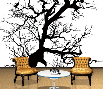 3D Ink Painted Branches 774 Wallpaper AJ Wallpaper 2