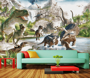 3D Big Dinosaur 137 Wallpaper AJ Wallpaper