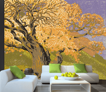 3D Color Carving Trees 1619
