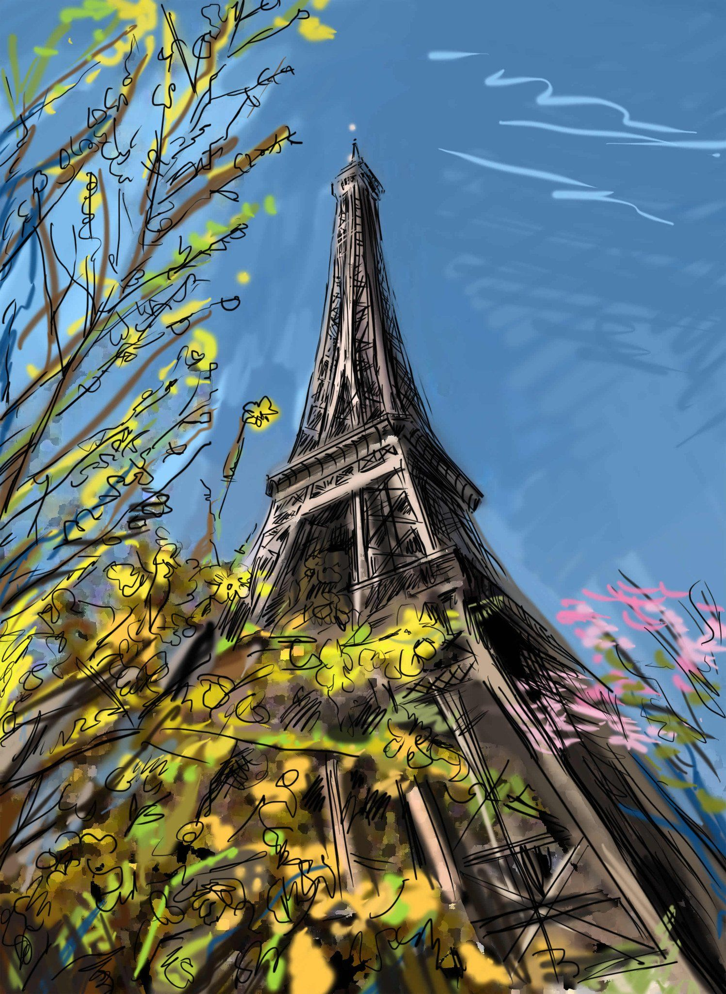 Eiffel Tower 13 Wallpaper AJ Wallpaper