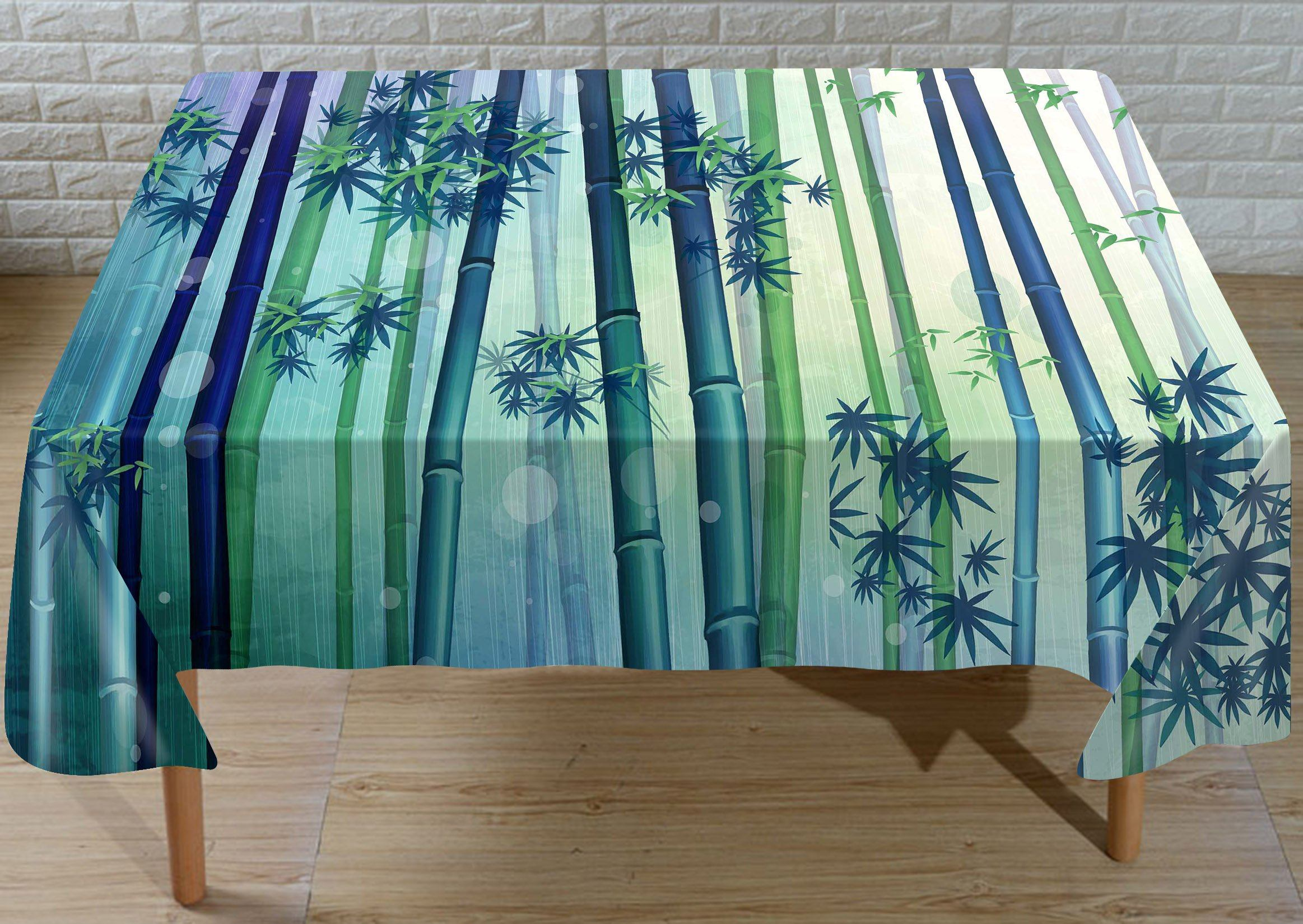 3D Bamboo Forest 250 Tableclothsm