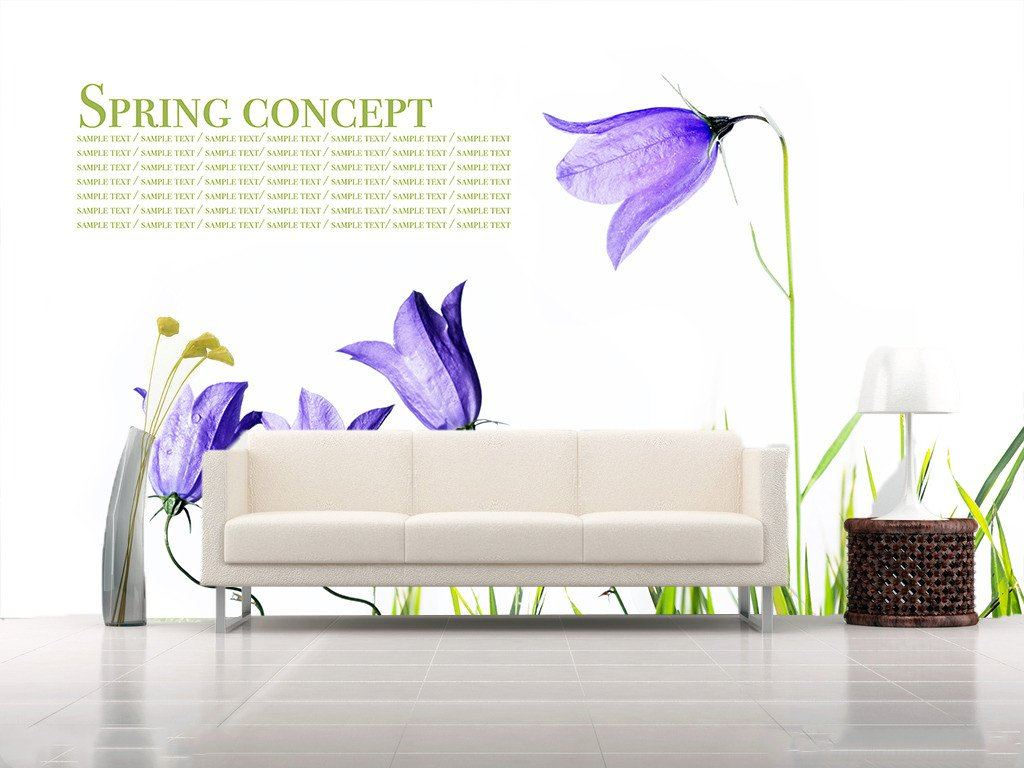 Spring Concept Wallpaper AJ Wallpaper