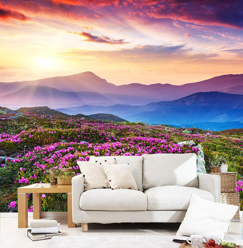 Azaleas Hills Wallpaper AJ Wallpaper