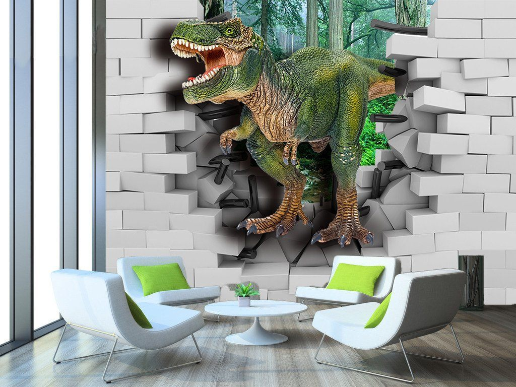 3D Walking Dinosaur 937 Wallpaper AJ Wallpaper