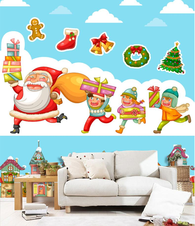 3D Happy Children Received Christmas Gifts 4 Wallpaper AJ Wallpaper