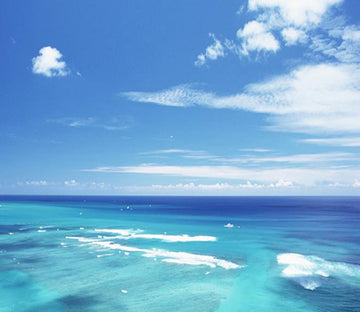 3D Blue Sky Ocean 232 Wallpaper AJ Wallpaper