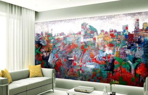 Abstract Painting - AJ Walls - 3