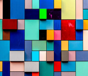 3D Colorful Square 92