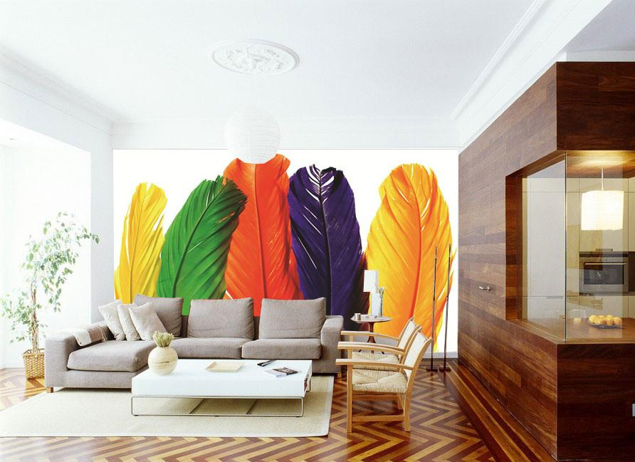 Colorful Feathers 1 - AJ Walls - 2