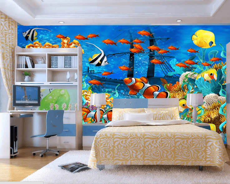Colorful Underwater World Wallpaper AJ Wallpaper