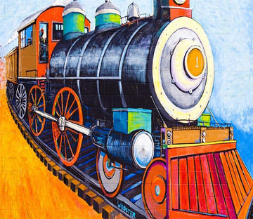 3D Train Cartoon 253