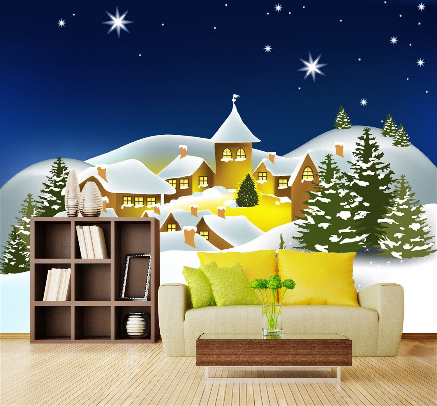 3D Merry Christmas Eve 662 Wallpaper AJ Wallpaper