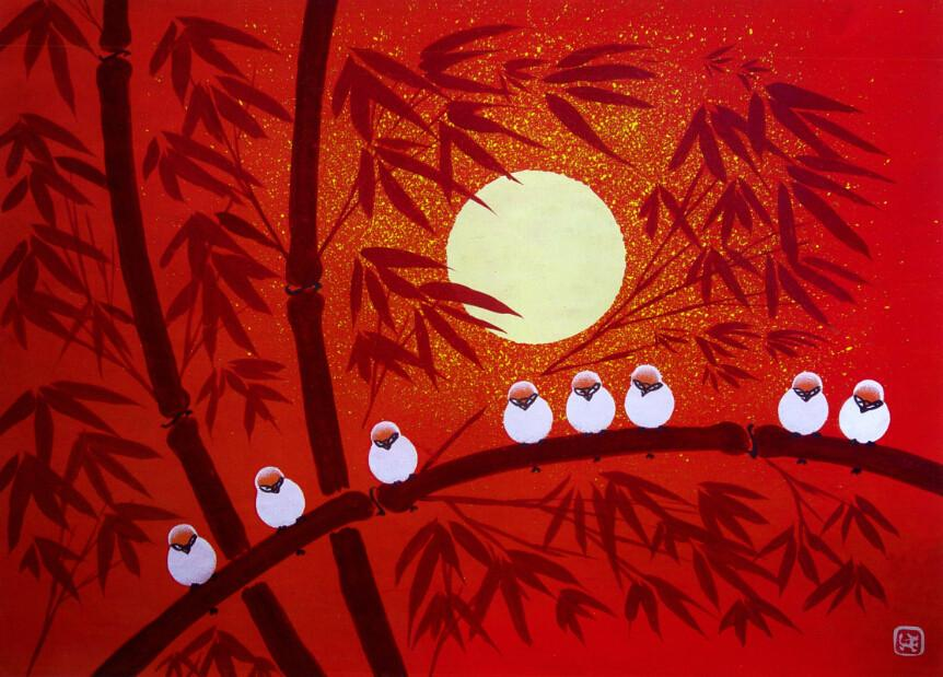 A Row Of Birds - AJ Walls - 2