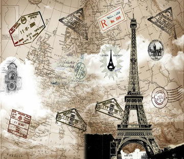 3D The Eiffel Tower 534 Wallpaper AJ Wallpaper