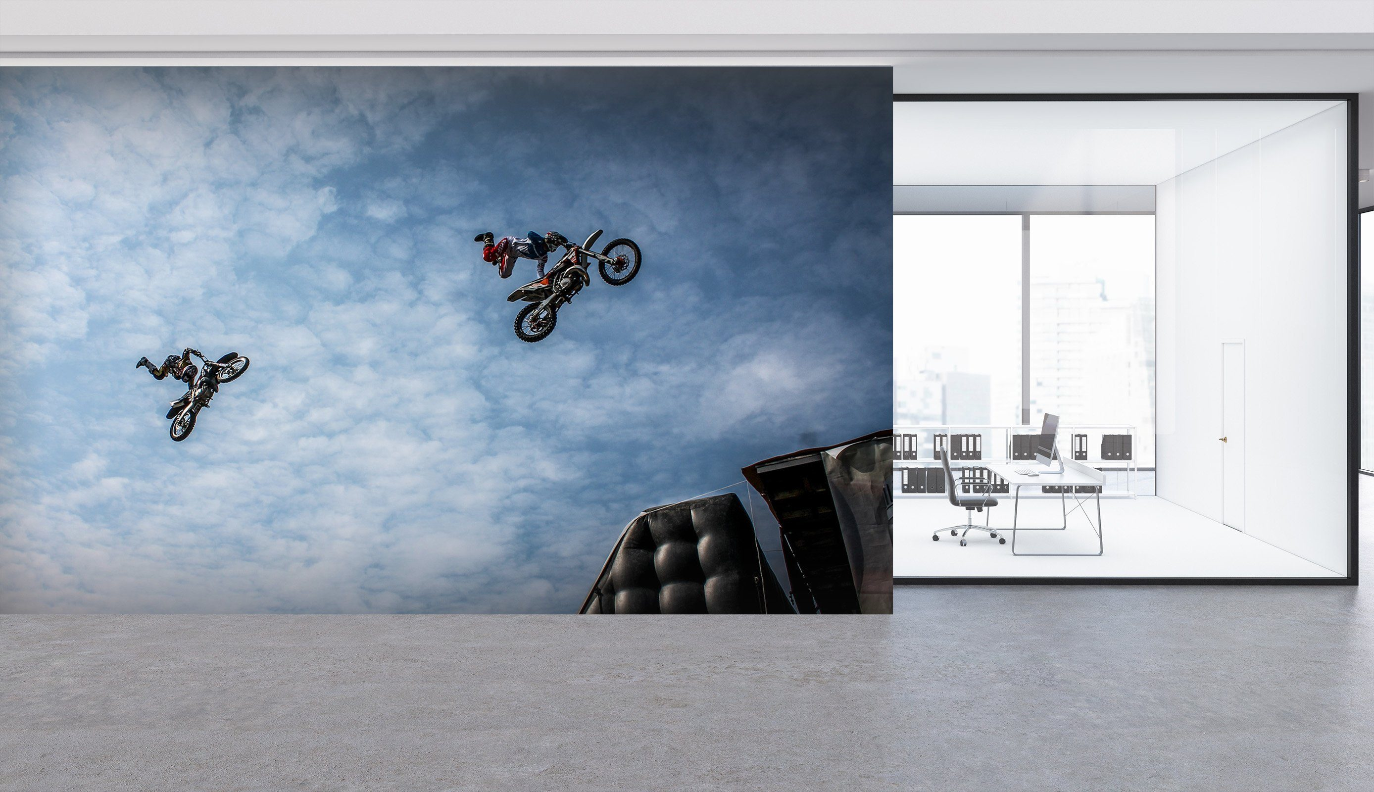 3D Biker 926 Vehicle Wall Murals Wallpaper AJ Wallpaper 2