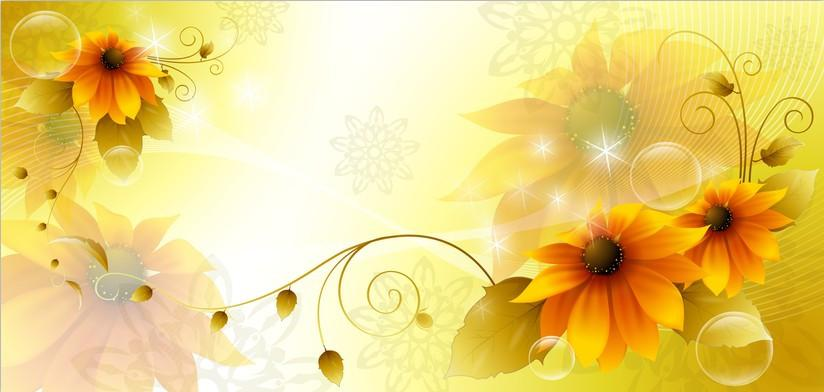 Blooming Flowers Wallpaper AJ Wallpaper