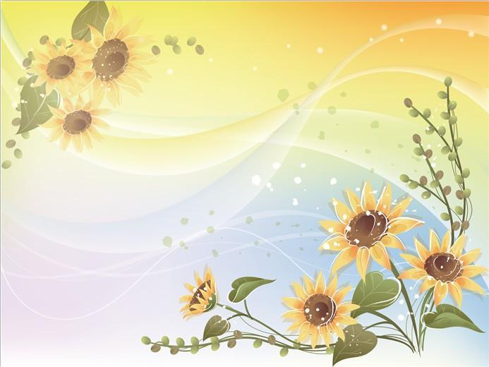 Sunflowers Wallpaper AJ Wallpaper