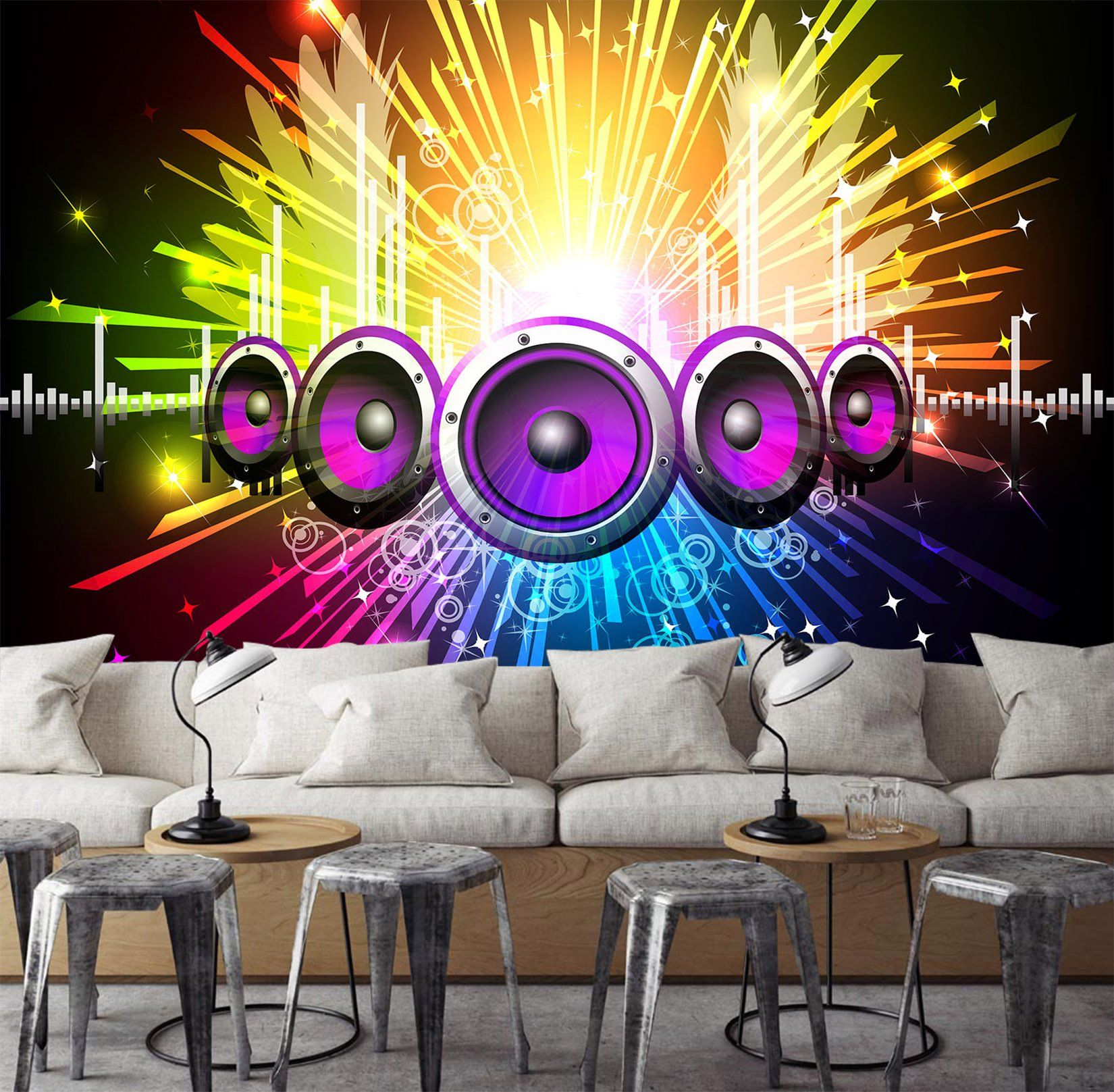 3D Audio Speaker 512 Wallpaper AJ Wallpaper 2