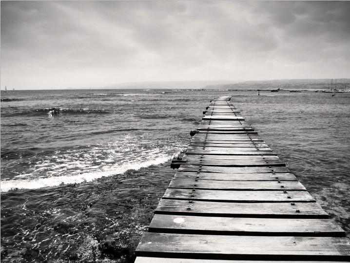 Sea Wooden Bridge 4 Wallpaper AJ Wallpaper