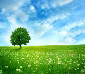 3D A Standing Green Tree 67 Wallpaper AJ Wallpapers