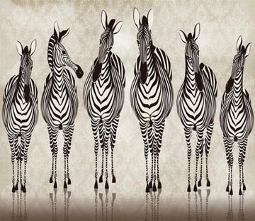 3D A Line Zebra 56 Wallpaper AJ Wallpaper