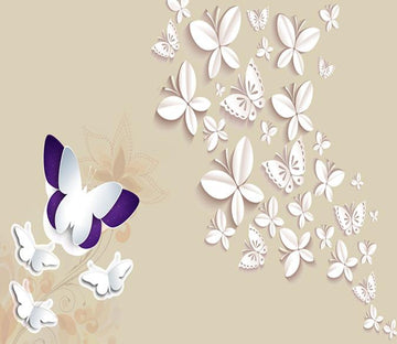 3D Butterfly Pattern 172 Wallpaper AJ Wallpaper