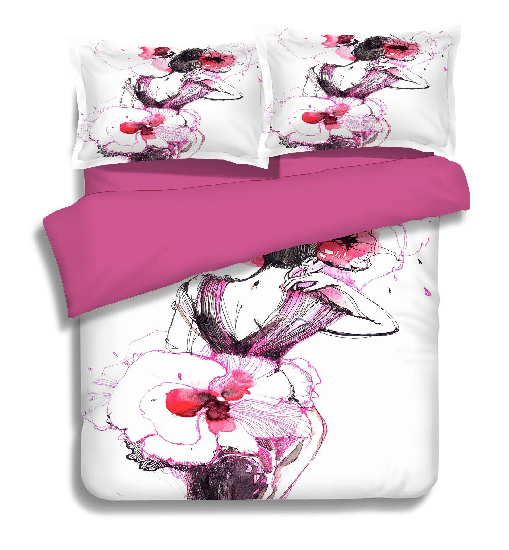 3D Design Model 288 Bed Pillowcases Quilt