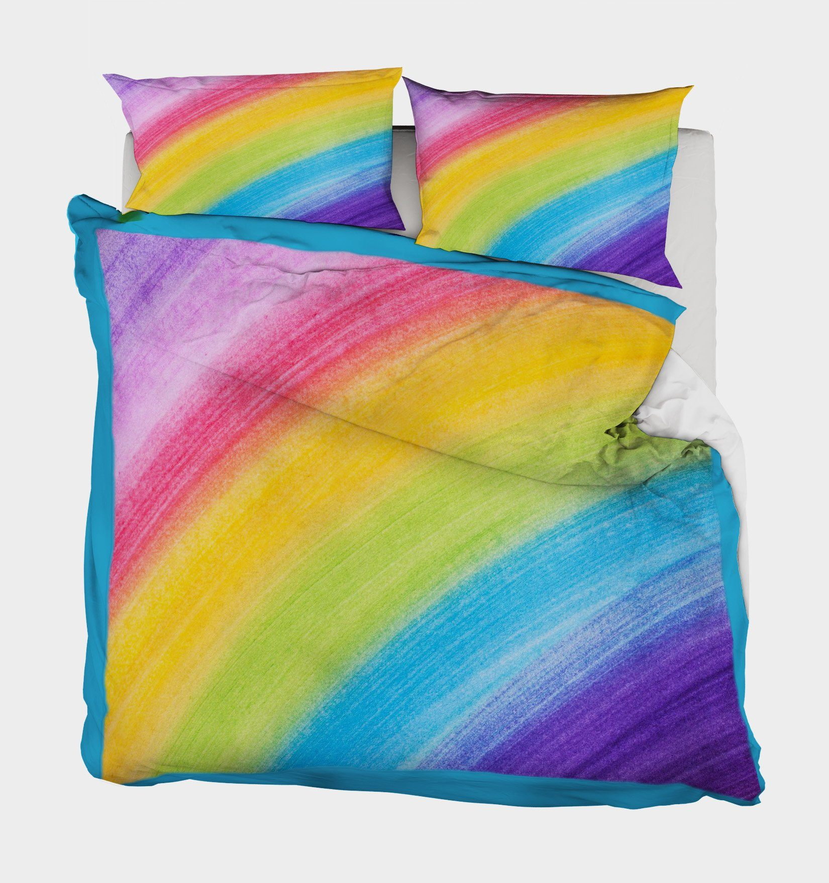 3D Seven Colors 171 Bed Pillowcases Quilt
