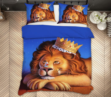 3D Lion King Mouse 18066 Jerry LoFaro bedding Bed Pillowcases Quilt