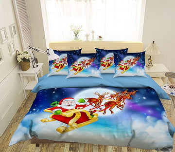 3D Christmas Goodbye 167 Bed Pillowcases Quilt Wallpaper AJ Wallpaper