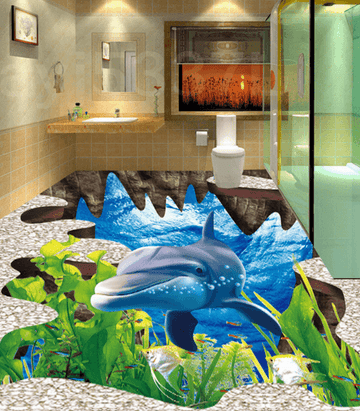 3D Seaweed 186 Floor Mural Wallpaper AJ Wallpaper 2