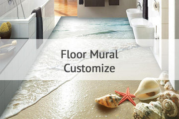Customize Floor Mural