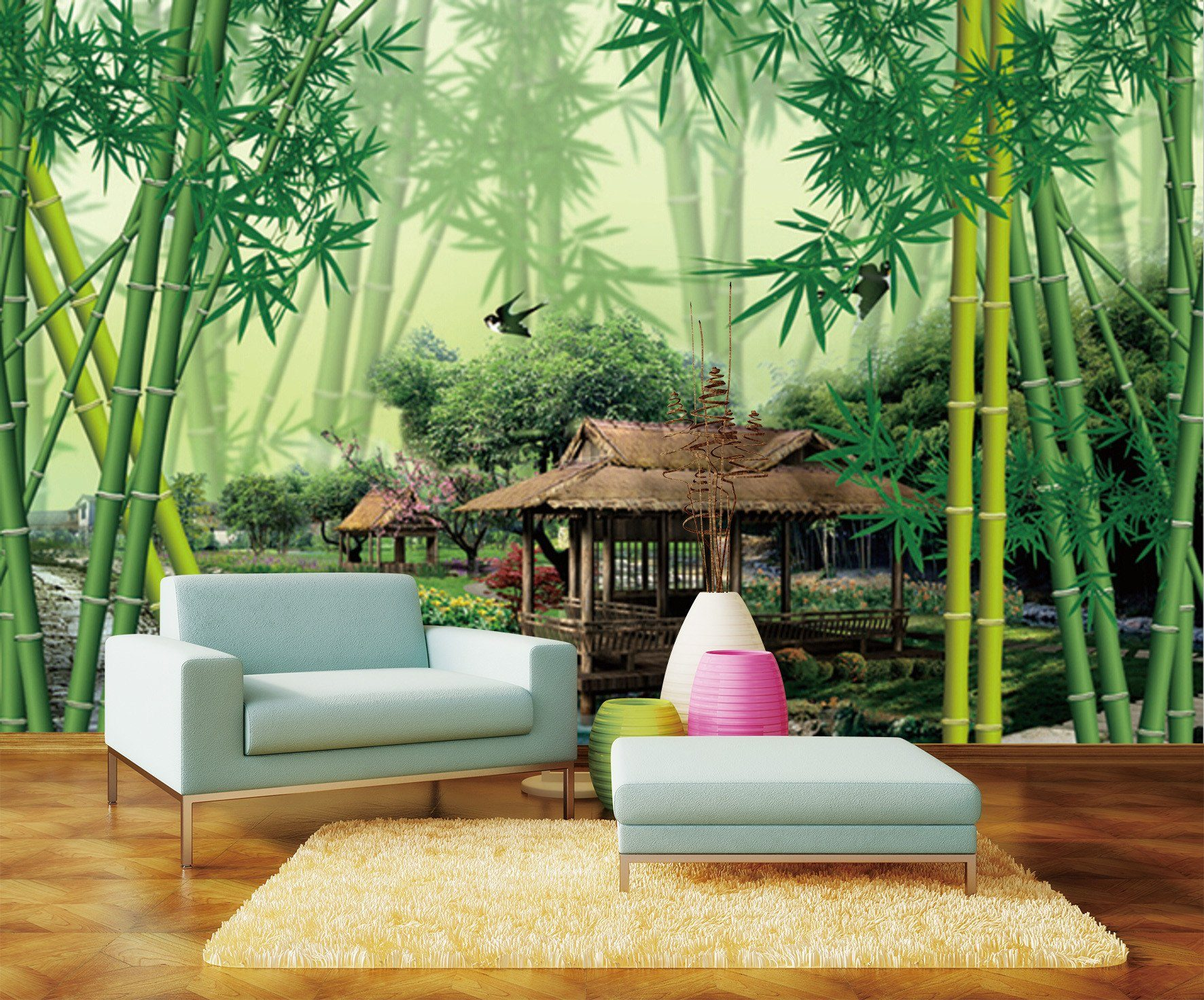 3D Bamboo Forest 109