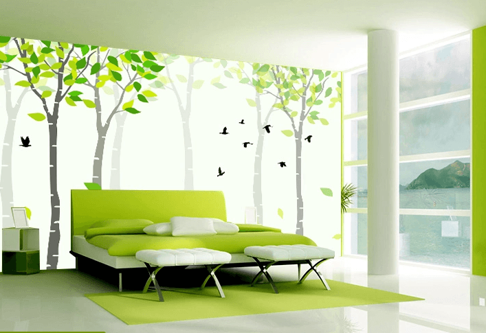 Green Young Trees - AJ Walls - 2