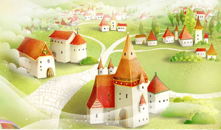 Fairy Tale Village 2 - AJ Walls - 3
