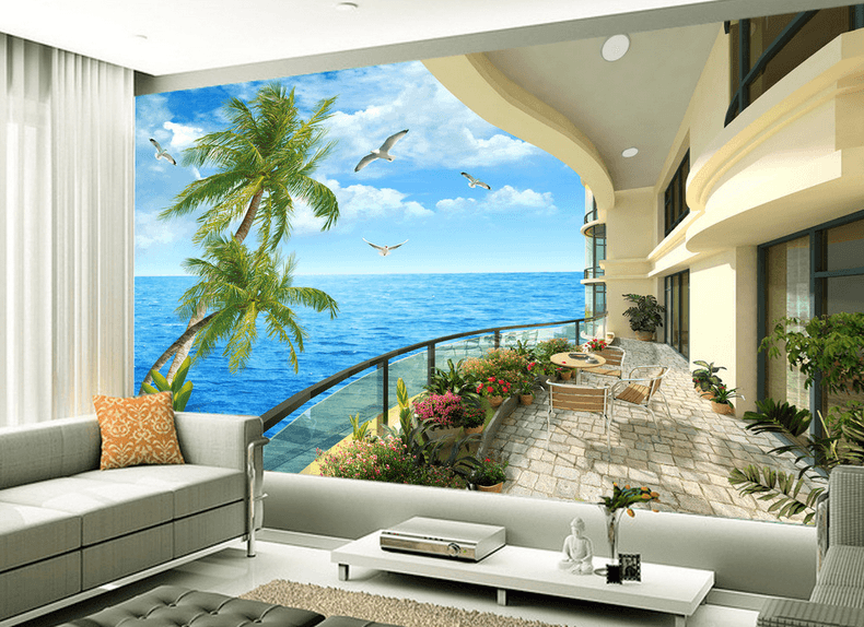 Balcony Beautiful Ocean - AJ Walls - 2