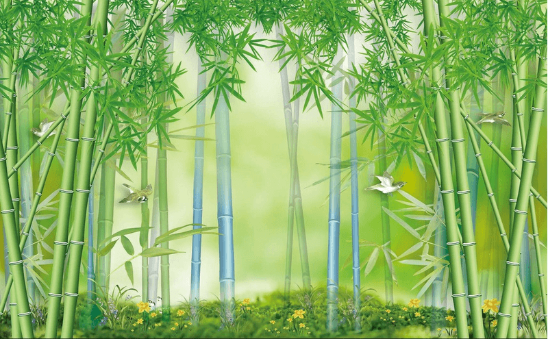 Bamboo Forest Birds - AJ Walls - 3