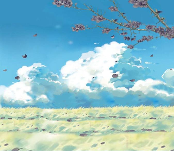 Peach Blossom And Blue Sky 92 Wallpaper AJ Wallpaper 1