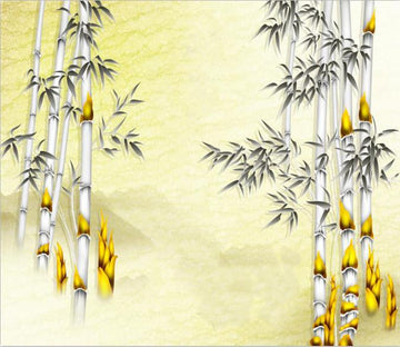 Ink Bamboo Forest 88 Wallpaper AJ Wallpaper 1