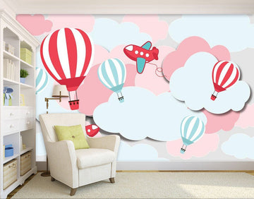 3D Air Hot Balloon 76