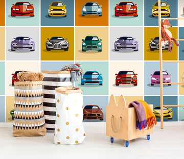 3D Cartoon Luxury Car 701