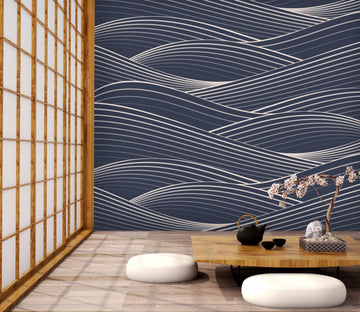 3D Wavy Line 633 Wallpaper AJ Wallpaper