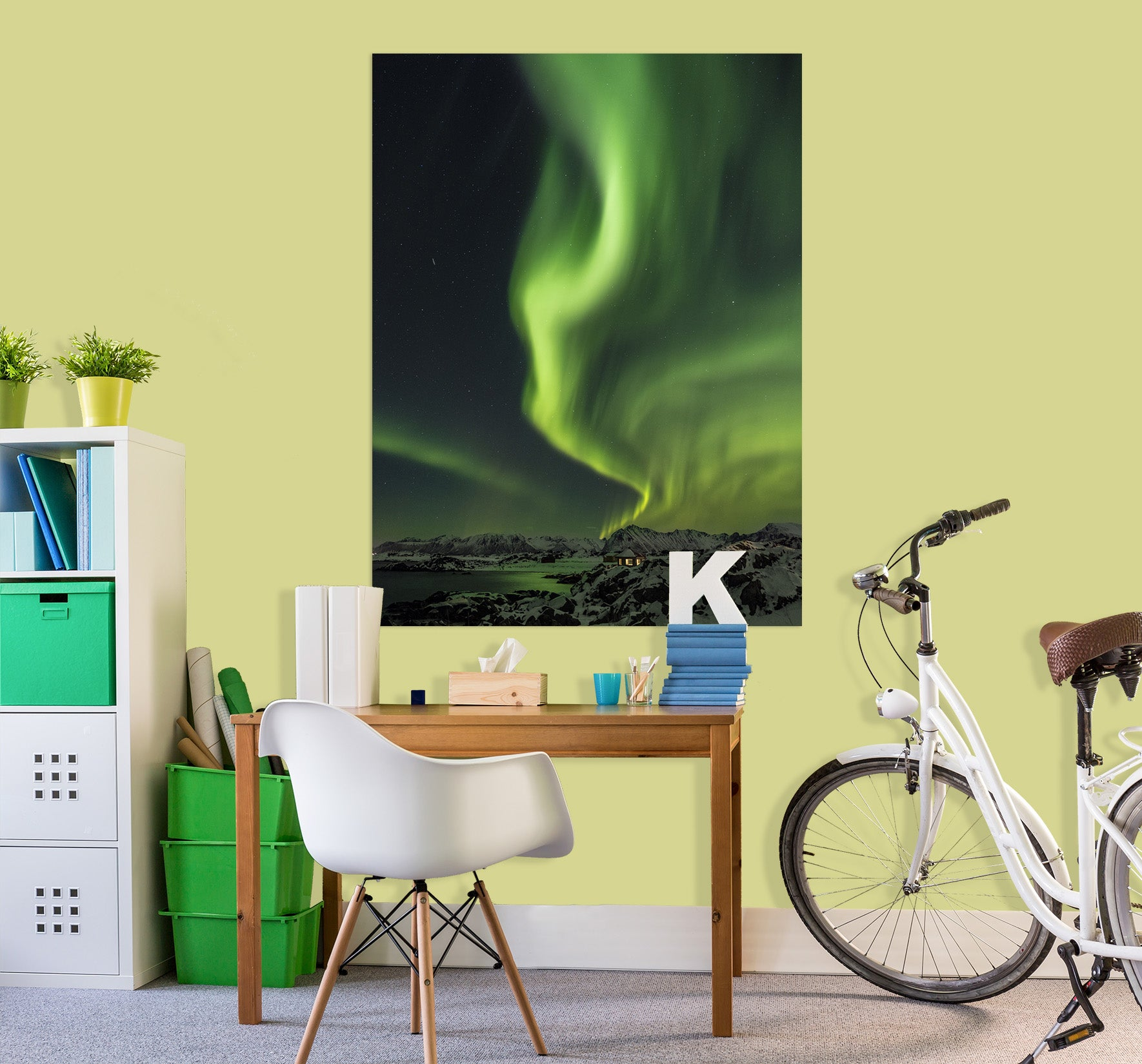 3D Green Light 231 Marco Carmassi Wall Sticker