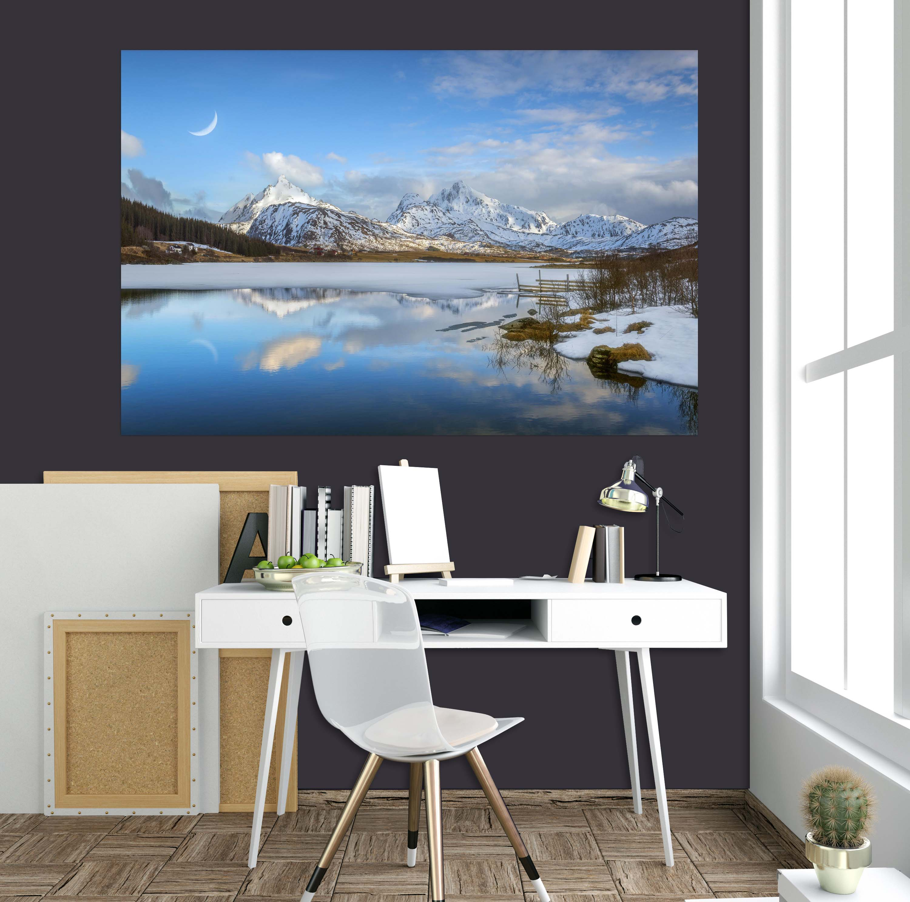 3D Crystal Clear Water 182 Marco Carmassi Wall Sticker