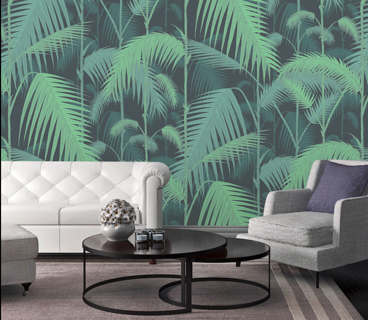 3D Forest Leaves WG269 Wall Murals